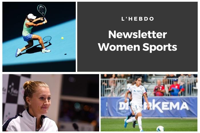 La newsletter WOMEN SPORTS du mardi 28 janvier 2020