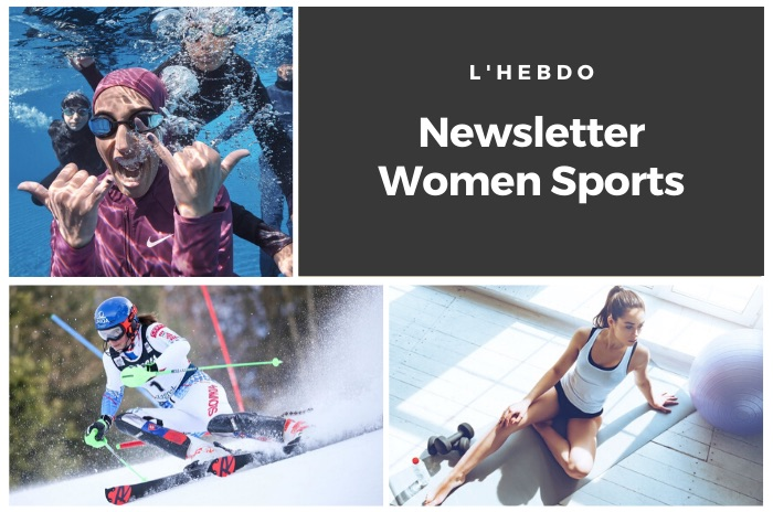 La newsletter WOMEN SPORTS du mardi 7 janvier 2020