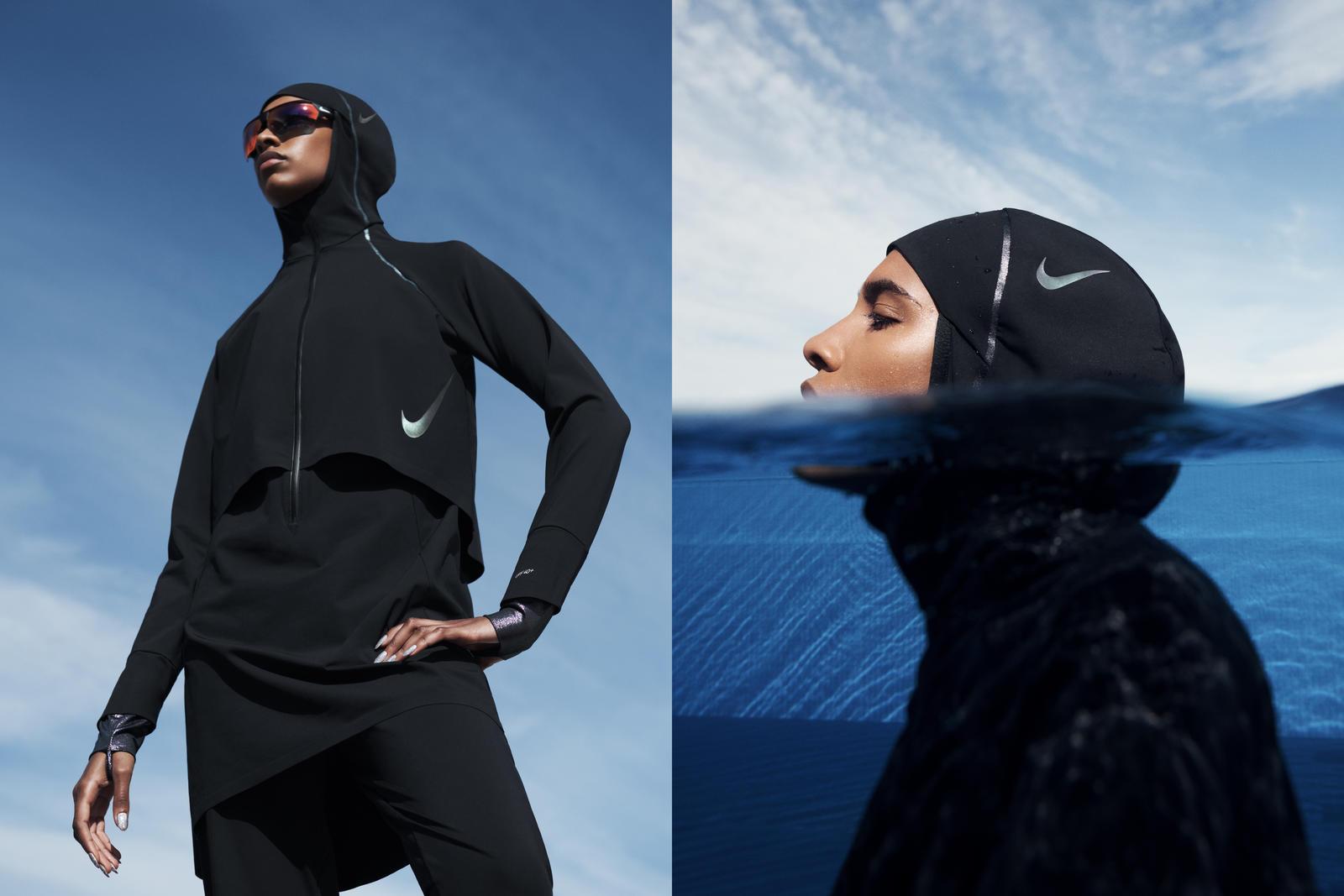 Nike dévoile une campagne sur YouTube pour introduire sa première gamme de maillots de bain avec un hijab intégré.
