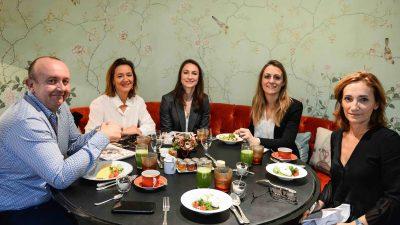 Petit déjeuner Women Sports / Sporsora, by PwC : quand Gaëtane Thiney et Agnès Hussherr découvrent qu'elles partagent la même devise !