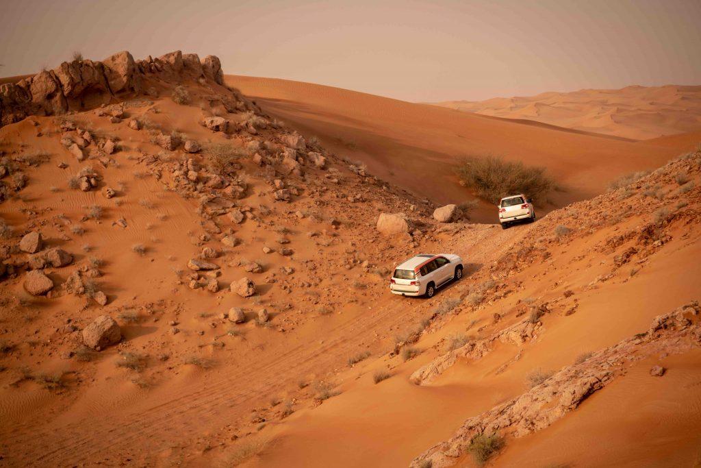 Portfolio - Je fais du sport dans le désert ! Nous vous avons listé une série d'activités physiques à pratiquer dans les zones arides pendant vos vacances !