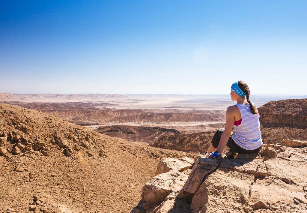 Portfolio – Je fais du sport dans le désert !