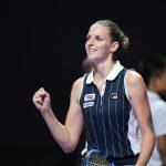 La Tcheque Karolina Pliskova s'est imposée en finale du tournoi WTA de Brisbane dimanche face à l'Américaine Madison Keys en trois sets ( 6-4, 4-6, 7-5).
