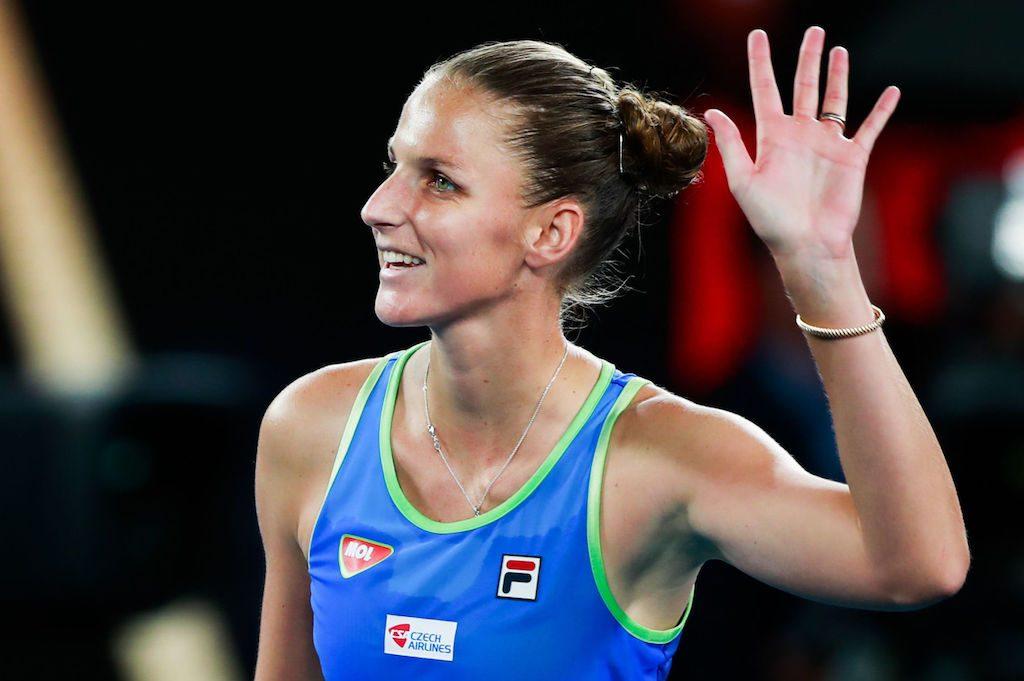 AO 2020 : Pliskova passe tranquillement au 3e tour