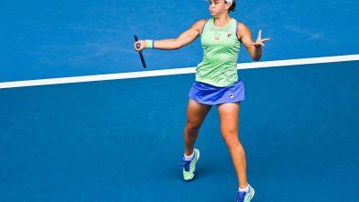 AO 2020 : la N.1 mondiale Ashleigh Barty s'est qualifiée pour les 8emes de finale