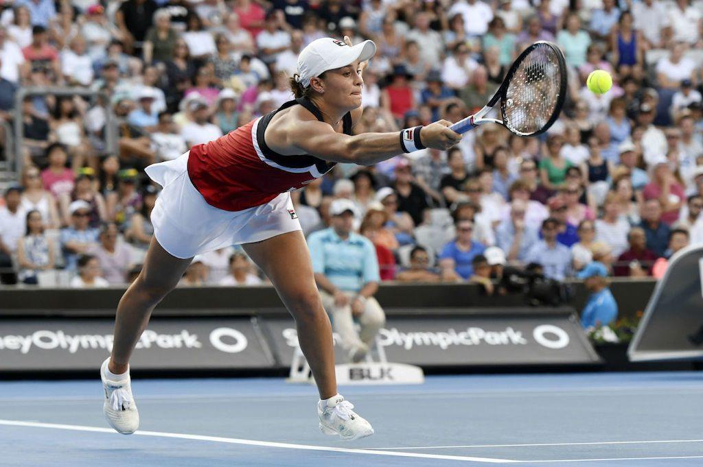 WTA Brisbane : Ashleigh Barty tombe d'entrée !