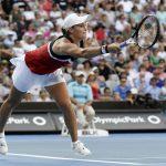 Ashleigh Barty, actuelle N.1 mondiale, est tombée d'entrée au tournoi WTA de Brisbane ce jeudi, pour sa première apparition en simple de la saison.