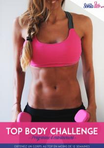 Nous avons testé le Top Body Challenge, un programme de musculation sur trois mois créé par l'influenceuse Sonia Tlev, qui, paraît-il, fait des miracles.