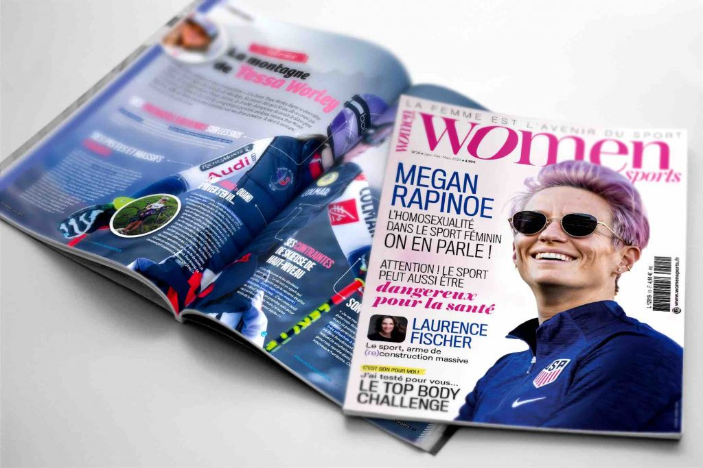 Tous à vos kiosques : le magazine WOMEN SPORTS N.15 est sorti !