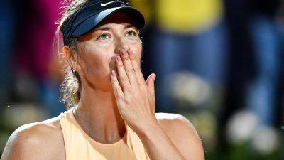 Tennis : l'ancienne N.1 mondiale Maria Sharapova annonce sa retraite