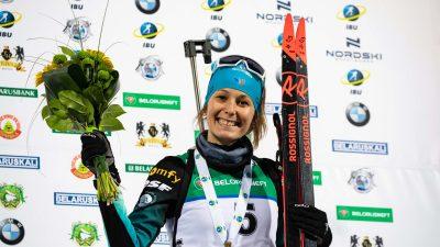 Euro biathlon : Chloé Chevalier en bronze