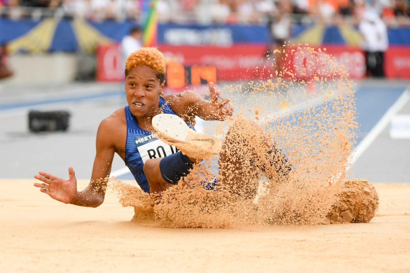 Yulimar Rojas améliore le record du monde du triple saut en salle
