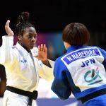 La Française Clarisse Agbegnenou a remporté pour la sixième fois de sa carrière le Paris Grand Slam de judo samedi, à Bercy.
