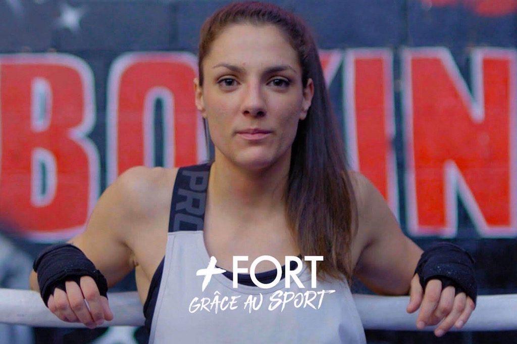 [Le portrait du mois by Crédit Agricole] Cynthia, la boxeuse qui a repris vie sur le ring !
