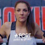 Dans le cadre de son webzine «Le Sport comme École de la Vie», le Crédit Agricole est parti à la rencontre de Cynthia, boxeuse qui a repris vie sur le ring.