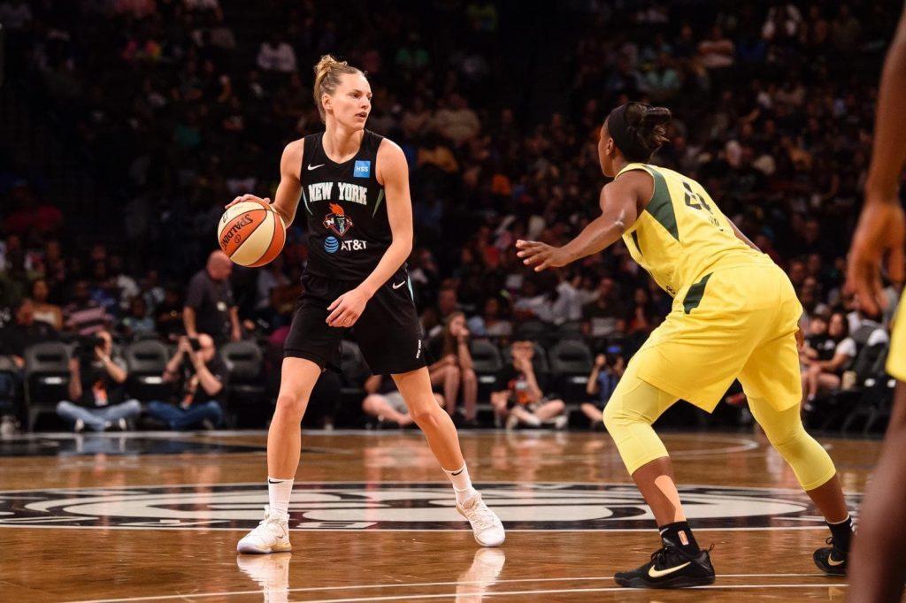 WNBA : Marine Johannès rempile avec le Liberty de New York