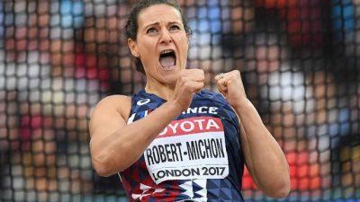 Mélina Robert-Michon remporte les Championnats de France hivernaux