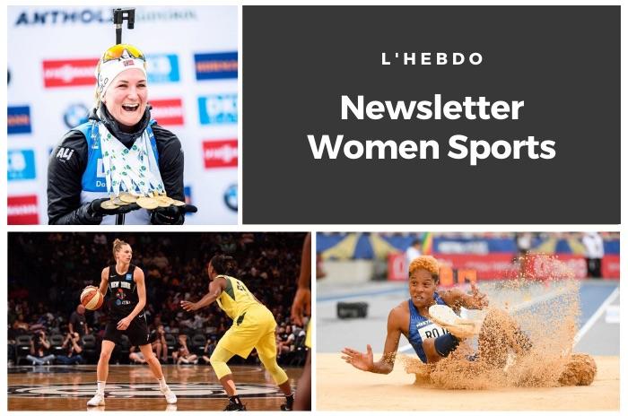 La newsletter WOMEN SPORTS du mardi 25 février 2020