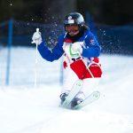 Après avoir remporté les six premières étapes de la Coupe du monde ski de bosses, Perrine Laffont a fini par s'incliner ce week-end, à Deer Valley (Utah).