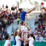 L'Équipe de France féminine de rugby s'est inclinée 19-13 face à l'Angleterre dimanche, à Pau, lors de la première journée du Tournoi des Six Nations 2020.