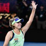 L'Américaine Sofia Kenin, lauréate de l'Open d'Australie 2020, a fait un bond de plusieurs places au classement WTA pour s'établir au 7e rang mondial lundi.