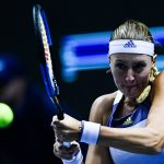 La Française Kristina Mladenovic s'est inclinée au deuxième tour du tournoi WTA de Dubaï mercredi contre la Tchèque Karolina Pliskova (N.3 mondiale).