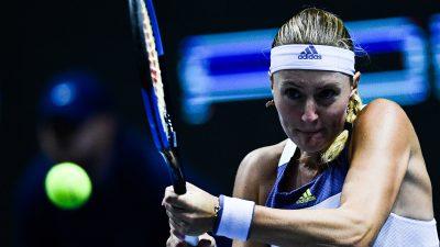 WTA Dubaï : Mladenovic battue par Pliskova au 2e tour