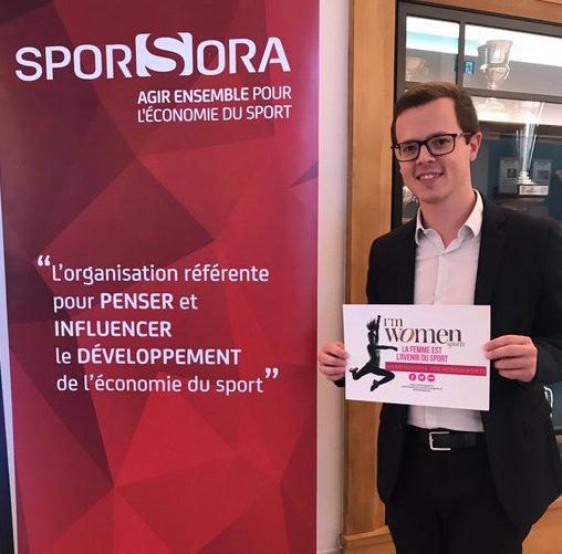 Tom Adriaenssens (Africa & International Development at BearingPoint) est We Men Sports for Women Sports