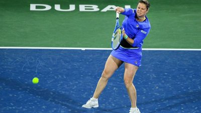 WTA Dubaï : Kim Clijsters encaisse une défaite pour son grand retour