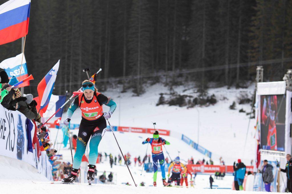 Biathlon : les Bleues 2emes à Nove Mesto, derrière la Norvège