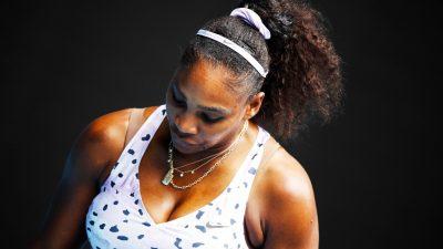 Coronavirus : Serena Williams a « les nerfs à fleur de peau » !