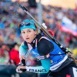 La biathlète française Célia Aymonier a annoncé qu'elle prenait sa retraite, «attristée» par les conditions de plus en plus déplorables de la neige.