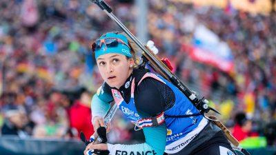 Biathlon : Célia Aymonier prend sa retraite à seulement 28 ans