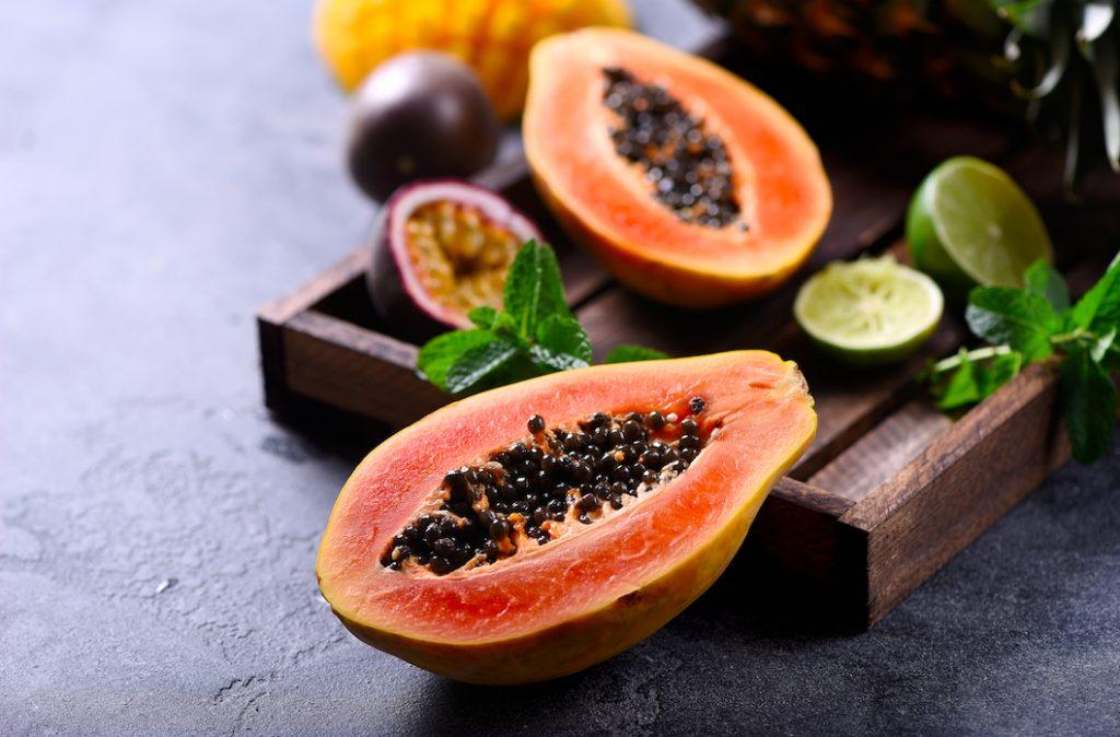C'est bon et de saison : et si on craquait pour le flan de papaye ?