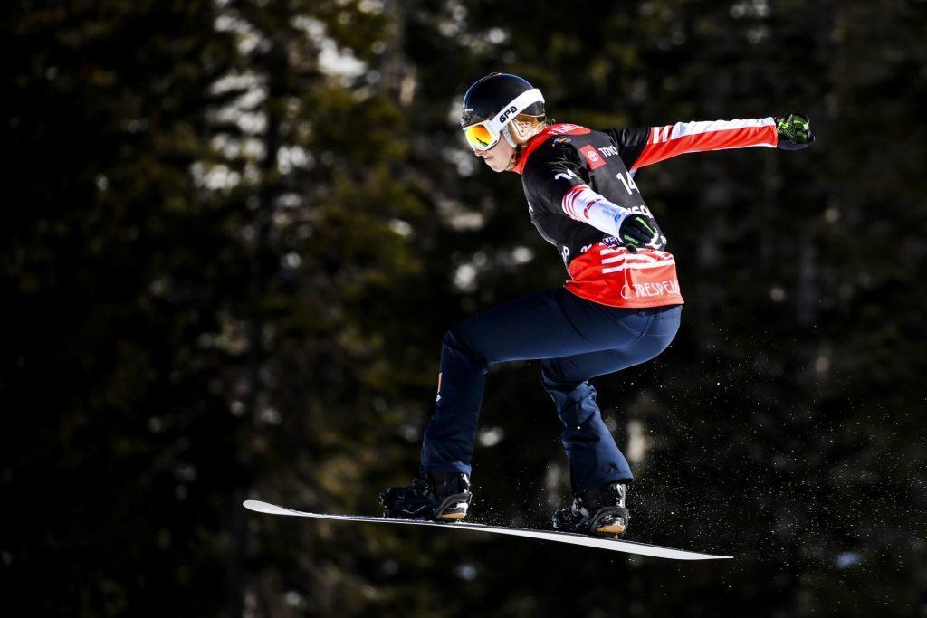 Snowboardcross : Chloé Trespeuch troisième de la Coupe du monde !