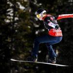 La Français Chloé Trespeuch a pris ce vendredi la troisième place de la Coupe du monde de snowboardcross, en terminant 2e de la dernière étape à Veysonnaz.