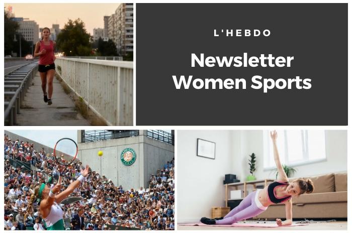 La newsletter WOMEN SPORTS du mardi 17 mars 2020