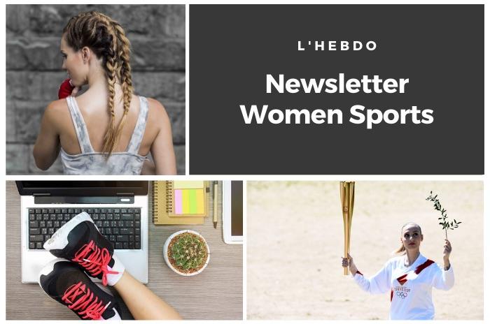 La newsletter WOMEN SPORTS du mardi 24 mars 2020