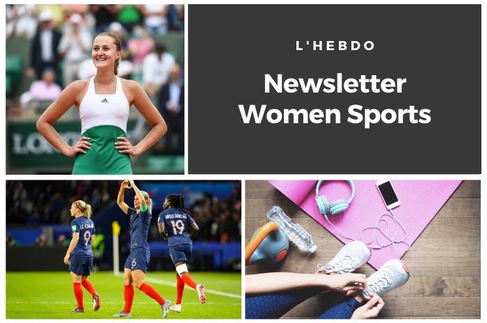 La newsletter WOMEN SPORTS du mardi 31 mars 2020