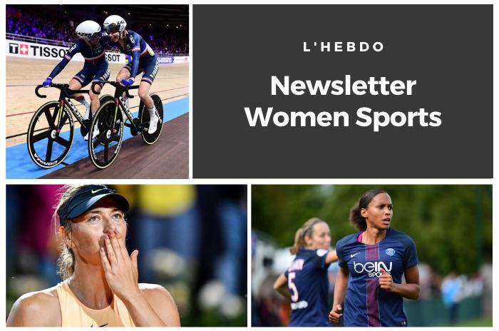La newsletter WOMEN SPORTS du mardi 3 mars 2020