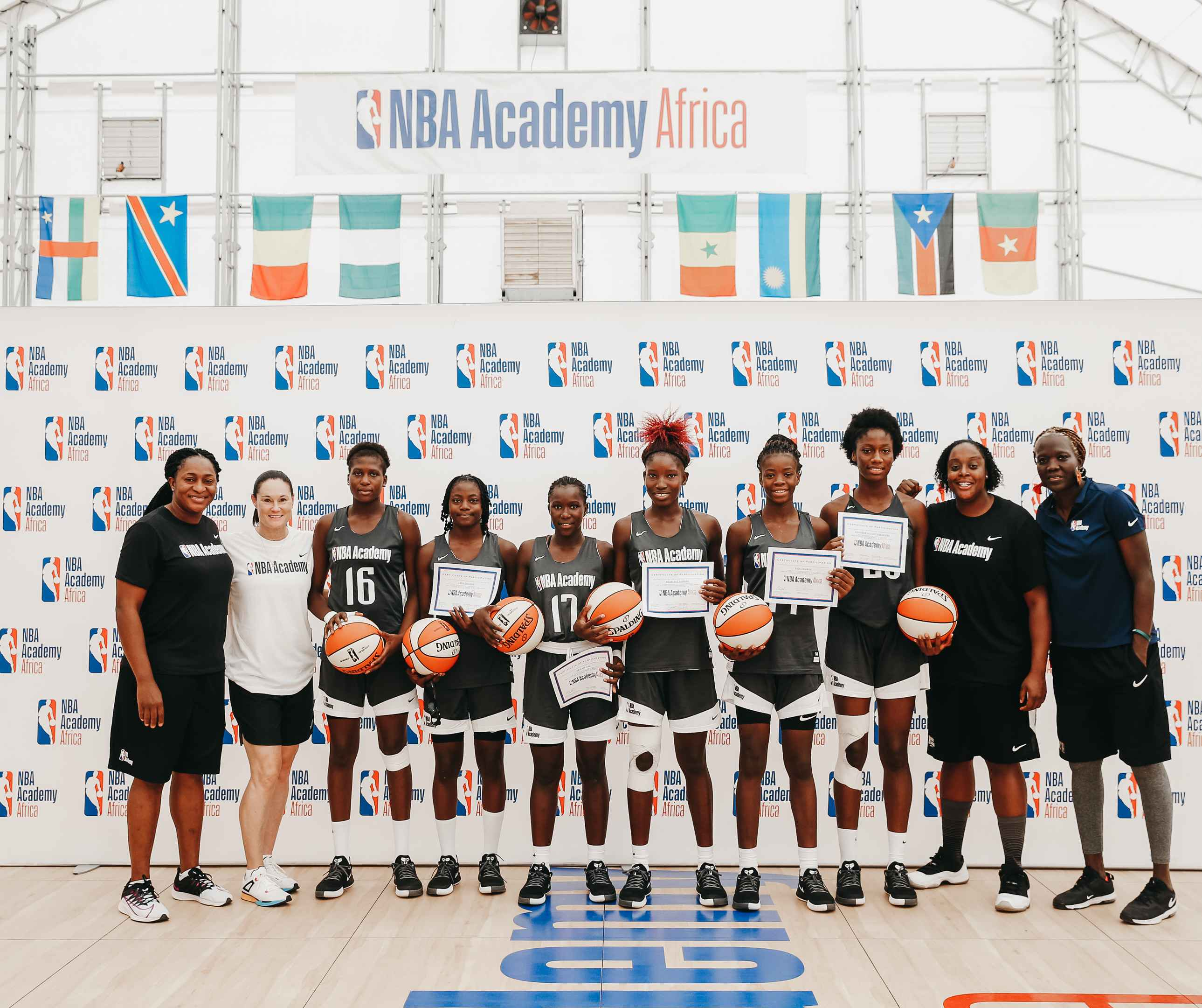 La ligue américaine de basket a de grands projets en Afrique. Avec un accent porté sur les basketteuses au cours des prochaines années, berceau de la WNBA.