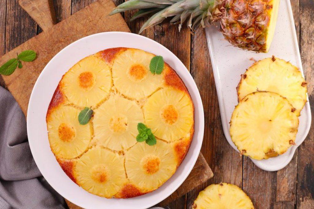 Le gâteau au yaourt et à l'ananas, made in MALO