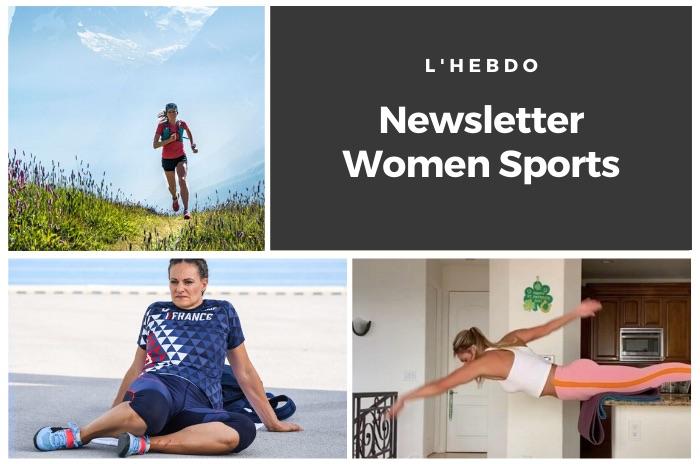 La newsletter WOMEN SPORTS du mardi 28 avril 2020