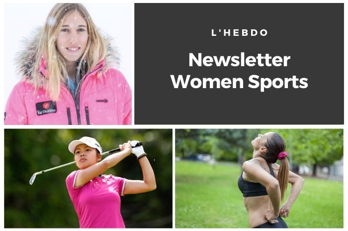 La newsletter WOMEN SPORTS du mardi 7 avril 2020
