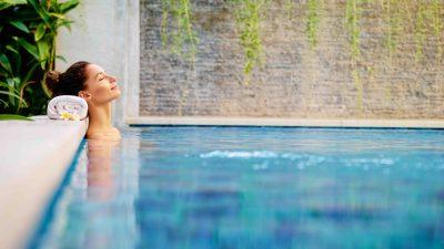 Après le sport, le réconfort : le spa, j'y ai droit !