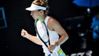 Tennis : Simona Halep se dit rétablie de sa blessure