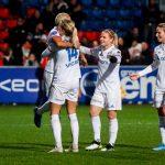 L'Olympique lyonnais a remporté le championnat féminin 2019-2020 de D1 Arkema, marqué cette année par l'arrêt de ses rencontres à six journées de la fin.
