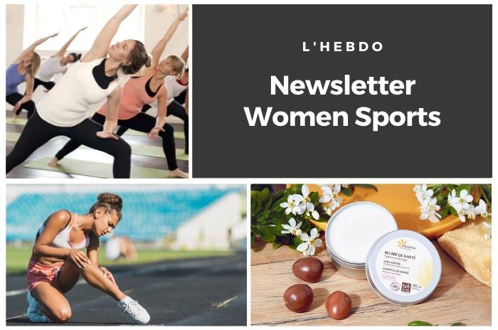 La newsletter WOMEN SPORTS du mardi 19 mai 2020