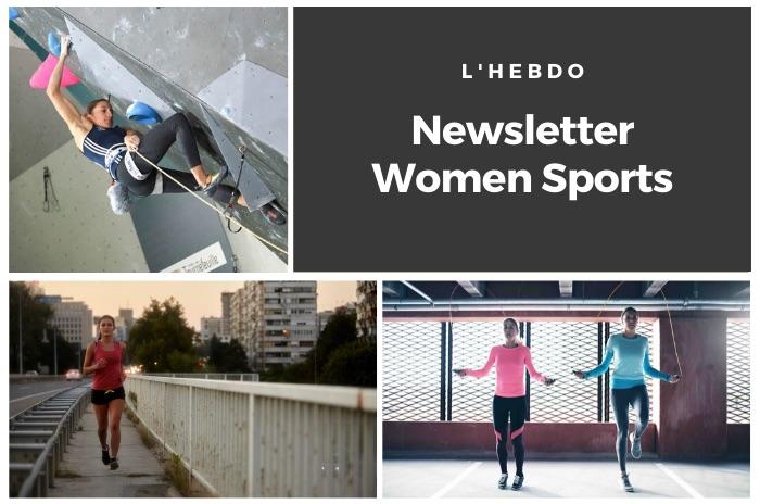 La newsletter WOMEN SPORTS du mardi 5 mai 2020