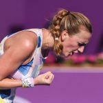 Petra Kvitova a remporté un mini-tournoi de tennis rassemblant huit joueuses de l'élite tcheque jeudi, à Prague, dans des conditions sanitaires inédites.